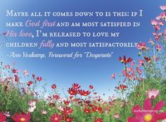 Desperate: Foreword by Ann Voskamp