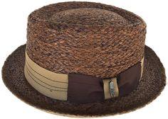 Brooklyn Hat Co Samba Braided Raffia Pork Pie Straw Boater Summer Beach Mens Dress Hats, Hat World, Driving Cap, Pork Pie Hat, Bag Clips, Newsboy Cap, Boater, Caps For Women, Mens Caps