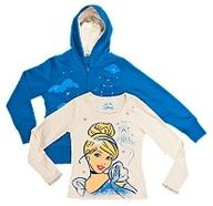 Disney Cinderella Girls 2-piece hoodie set #disneywishlist