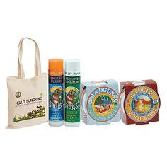 Badger Summer Sun Essentials met GRATIS strandtas en lipverzorging stick