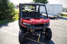 New 2017 Can-Am Defender MAX XT HD10 ATVs For Sale in Wisconsin. 2017 Can-Am Defender MAX XT HD10, 2017 Can-Am® Defender MAX XT HD10 READY TO TAKE ON THE JOB WITH ROOM FOR SIX The Defender MAX XT comes equipped with many factory-installed accessories including 27 in. (68.6 cm) Maxxis Bighorn 2.0 tires mounted on 14 in. (35.6 cm) wheels and Dynamic Power Steering for better handling and steering. Features may include: HEAVY-DUTY ROTAX V-TWIN ENGINES The Defender MAX XT package offers two…