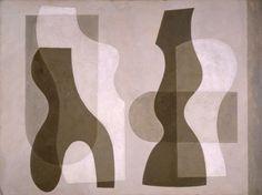 Superimposed forms, Jessica Dismorr, 1938