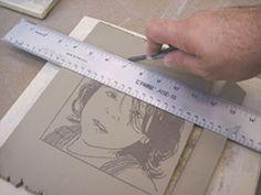 Fig.5 Manipulate or trim the clay.