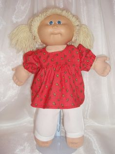 Cabbage Patch Dress and Leggings by Karensdollkreations on Etsy