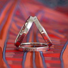 Hermes Trio scarf ring #hermes #trio