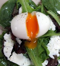 Calf& egg: the surefire recipe Veggie Recipes, Diet Recipes, Cooking Recipes, Healthy Recipes, Healthy Cooking, Food Inspiration, Love Food, Breakfast Recipes, Food Porn