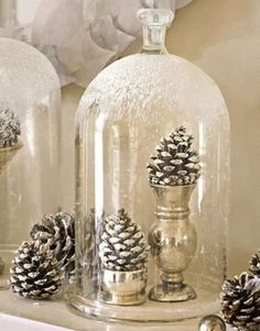 Nine Ways to Decorate Your Bell Jar for Christmas | Curbly