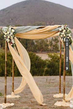 www.wedbuy.co - Sharing - Vintage Wedding Ceremony Altar #wedding #vintagewedding #vintageweddingideas