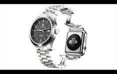 Lanzan un reloj que es al mismo tiempo reloj tradicional y Apple Watch
