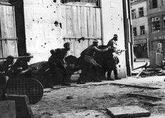 The Warsaw Uprising of 1944 – a heroic and tragic August – 2 October struggle to liberate World War II Warsaw from Nazi/Germ. Warsaw Uprising, Lest We Forget, World War Ii, Ww2, Poland, Christianity, Photographs, Google Translate, Costa