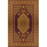 Found it at Wayfair - Mad Mats Oriental Turkish Rust Rug