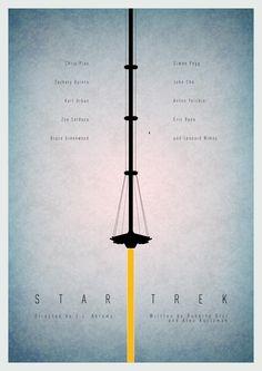 Star Trek poster by WolfCadet