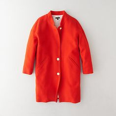 Gorgeous cotton car coat for early spring