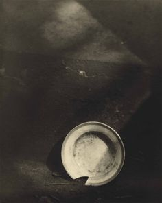 JOSEF SUDEK (1896-1976)  Broken Dish, 1924  gelatin silver print  signed in pencil (on the mount)  image/sheet: 11 5/8 x 9¼in. (29.5 x 23.5cm.)  mount: 19 5/8 x 17½in. (49.8 x 44.5cm.)