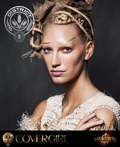 Explore COVERGIRL's District 9 look, inspired by The Hunger Games: Catching Fire   the NEW Capitol Makeup Collection.