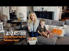 Ideas for dealing with the tons of candy at halloween...Does the Powell Pack eat Halloween candy?   Heidi Powell