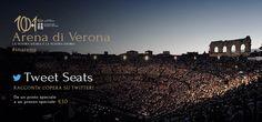Sogni l'Arena di Verona? Partecipa a Tweet Seats #inarena per vincere uno più biglietti al costo di 10€! #arenadiverona  http://paperproject.it/lifestyle/another-sunny-day/sogni-arena-verona-partecipa-tweet-seats-inarena/