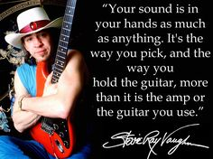 Musician's quote of the day: Stevie Ray Vaughan