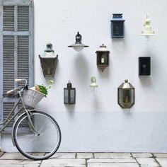 Garten Terrasse Wohnideen Möbel Dekoration Decoration Living Idea Interiors home garden - Außenbeleuchtung