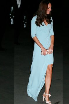 Entertainment Tonight - News - Hot Mamas: Kate Middleton Shows Some Leg, Blake Lively Shows Some Cleavage