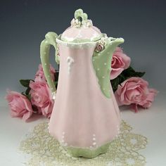 Cocoa Pot by RomancingTheTeapot on Etsy, $54.95