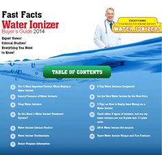Water Ionizers Buyers Guide Reviews #waterionizer #tyent