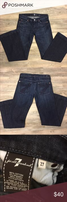 7 for all mankind dojo jeans In great condition 7 For All Mankind Jeans