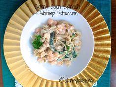 Skinny Cajun Spinach & Shrimp Fettuccine (scheduled via http://www.tailwindapp.com?utm_source=pinterest&utm_medium=twpin&utm_content=post1462705&utm_campaign=scheduler_attribution)