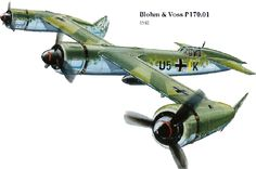 Blohm & Voss P170.01; WWII German Concept