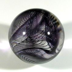 """Hot House Glass collaborative """"ReRun"""" marble 1.27"""" 32 mm #98"""