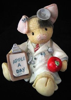 "This Little Piggy ""An Apple a Day Keeps the Doctor Away"" by Enesco, http://www.amazon.com/dp/B007HB1LMQ/ref=cm_sw_r_pi_dp_4fVlqb1DRGW7W"