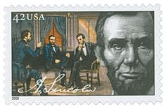 2009 42c Abraham Lincoln - President - Catalog # 4383 For Sale at Mystic Stamp Company