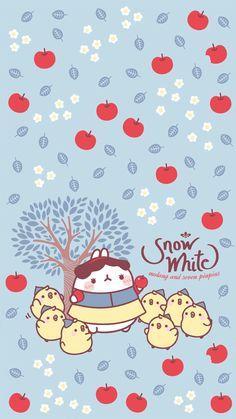 molang blanca nieves