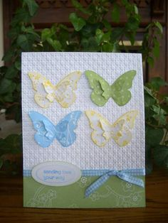 Butterfly Love by stampin'nana - Cards and Paper Crafts at Splitcoaststampers
