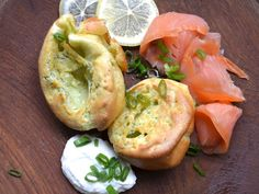 Dill Yorkshire Puddings With Smoked Salmon and Horseradish Cream   Serious Eats : Recipes