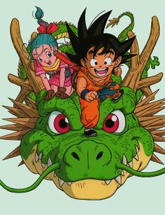 DRAGON BALL | BULMA AND GOKU