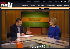 Co-founder and Manager of The Roof Crop talks Urban Ag on WCIU!