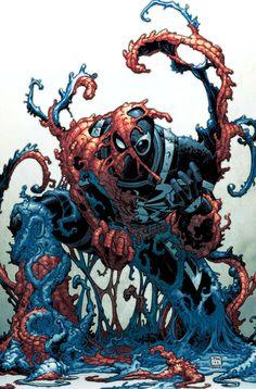 #Venom #Fan #Art. (VENOM #6 Cover) By: Tony Moored. (THE * 5 * STÅR * ÅWARD * OF: * AW YEAH, IT'S MAJOR ÅWESOMENESS!!!™) ÅÅÅ+