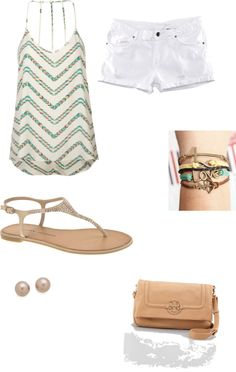 """""""summer"""" by eah1020 ❤ liked on Polyvore"""