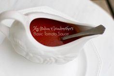 My Italian Grandmother's Homemade Tomato Sauce VIDEO