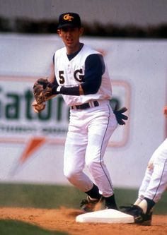 Nomar Garciaparra was inducted into the College Baseball Hall of Fame last week — GT's first! @GT Athletics #gojackets