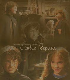 Oculus Reparo Harry and Hermione