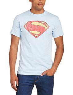 DC Comics - Camiseta de manga corta para hombre, color azul, talla 2xl #camiseta #realidadaumentada #ideas #regalo
