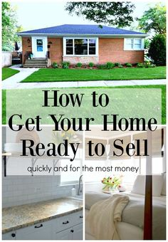 Ready to put your house on the market? What every homeowner should do to get your home ready to sell.