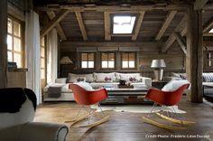 Le design réinvente le chalet de montagne - Maison Créative