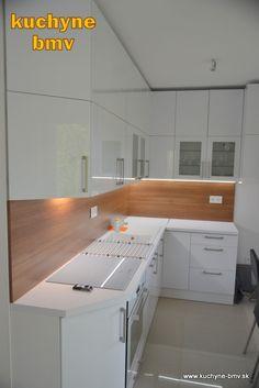 Kuchynská linka po strop - BMV Kuchyne
