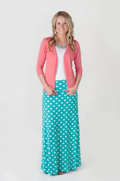 Polka Dot Maxi Skirts | Jane