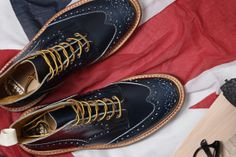 Trickers,made in England.