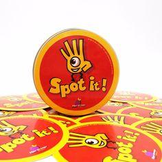 Lo nuevo Dobble spot es juego de niños de alta calidad de papel para tarjetas de juego de juego de la familia