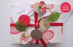 pretty paper garlands!